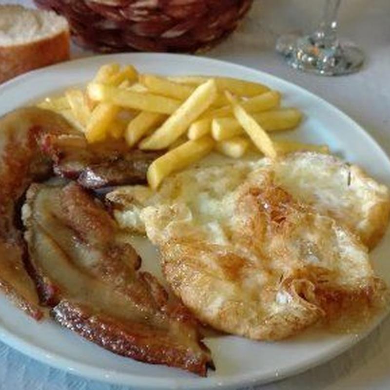 Platos combinados: Cocina casera de Restaurante El Cocinero