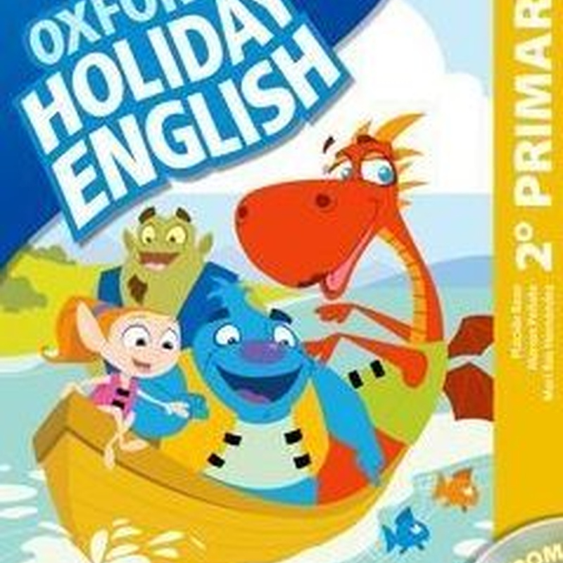 Holiday English 2 Primaria: Student's Pack Spanish. OXFORD.  9780194546294