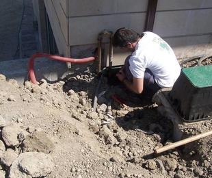 Presupuestos instalación riego automático Getxo