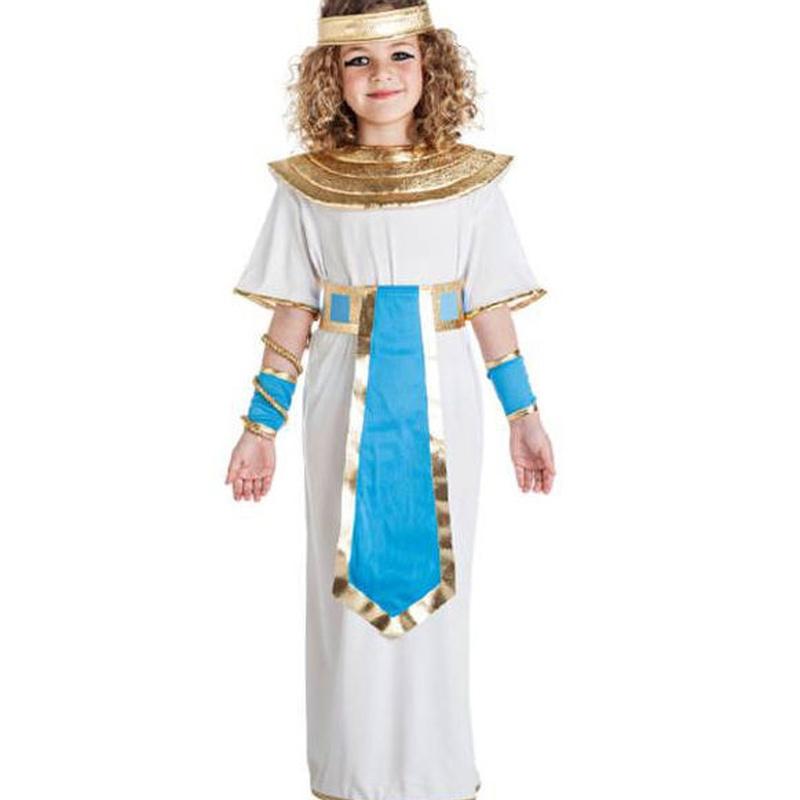 Disfraz egipcia azul infantil