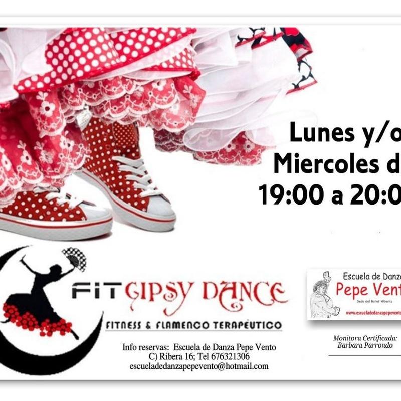Fit Gipsy Dance: Clases de Escuela de Danza Pepe Vento