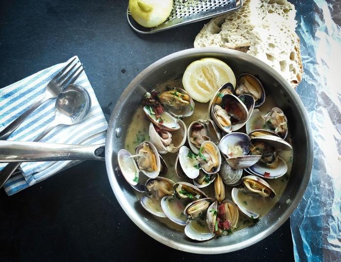Pescados y mariscos: Carta  de Restaurante Hervi