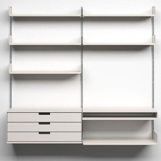 En tu oficina, apuesta por estanterías de acero inoxidable