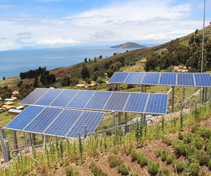Paneles solares en Zaragoza