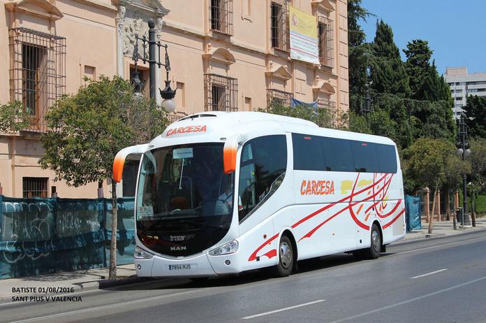 Viajes: Servicios de Autocares Carcesa