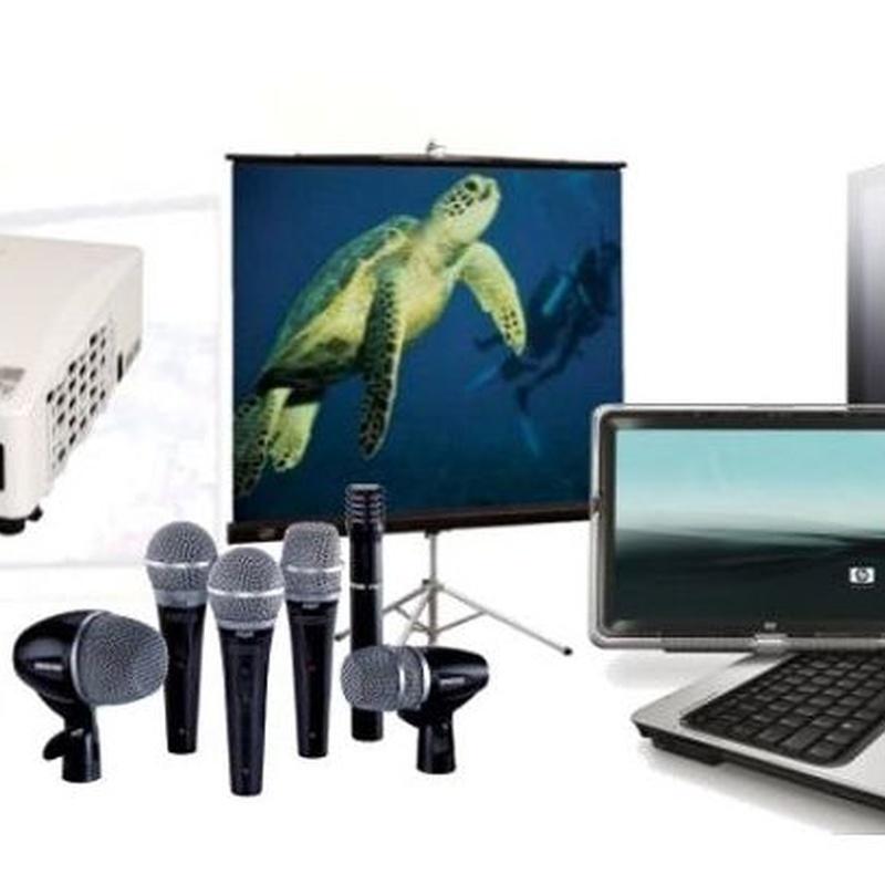 AUDIOVISUALES Y SISTEMAS DE VÍDEO CONFERENCIA: Productos y servicios de Ofimática de Cartagena