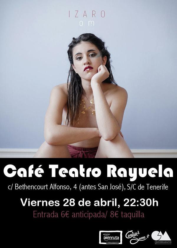 IZARO EN CAFE TEATRO RAYUELA