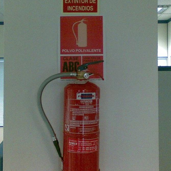 Normativa sobre la instalación de extintores en comunidades de vecinos