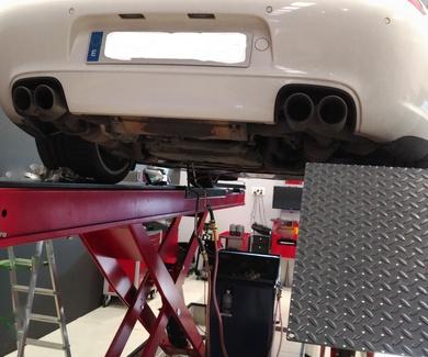 Mantenimiento del cambio de velocidades Porsche 911