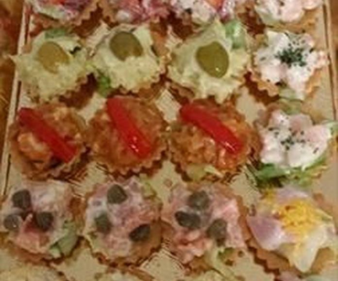 Pastelería salada: Productos de Pastelería V. Polo Monse