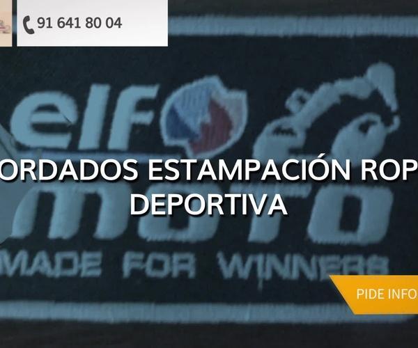 Bordado publicitario en Madrid Centro - Bordados Tecnibor