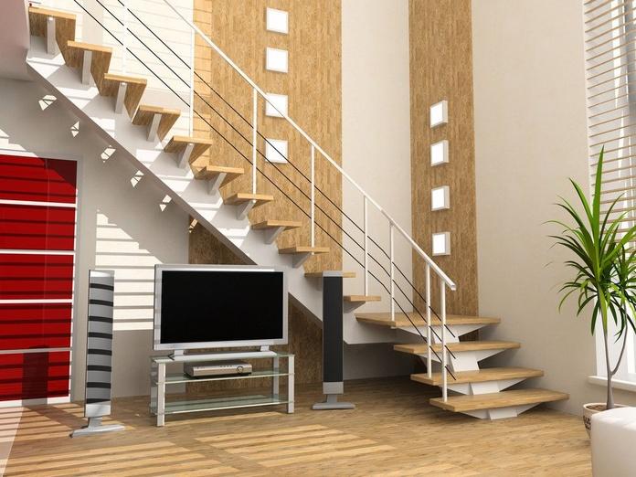 Pared y escaleras de madera: Servicios de Parquets Sillero