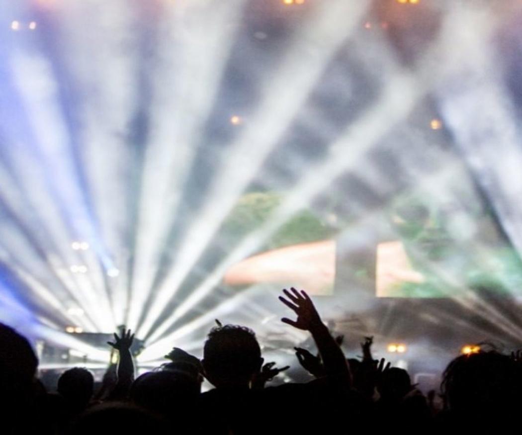 Las luces LED para espectáculos