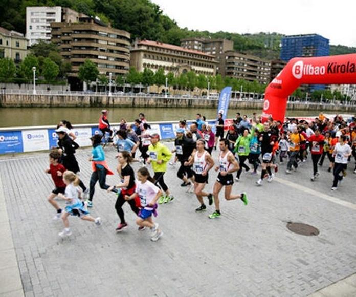 IV Carrera familiar de Bilbao 2015