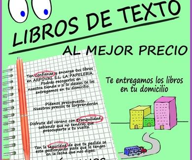Libros de texto al mejor precio!!