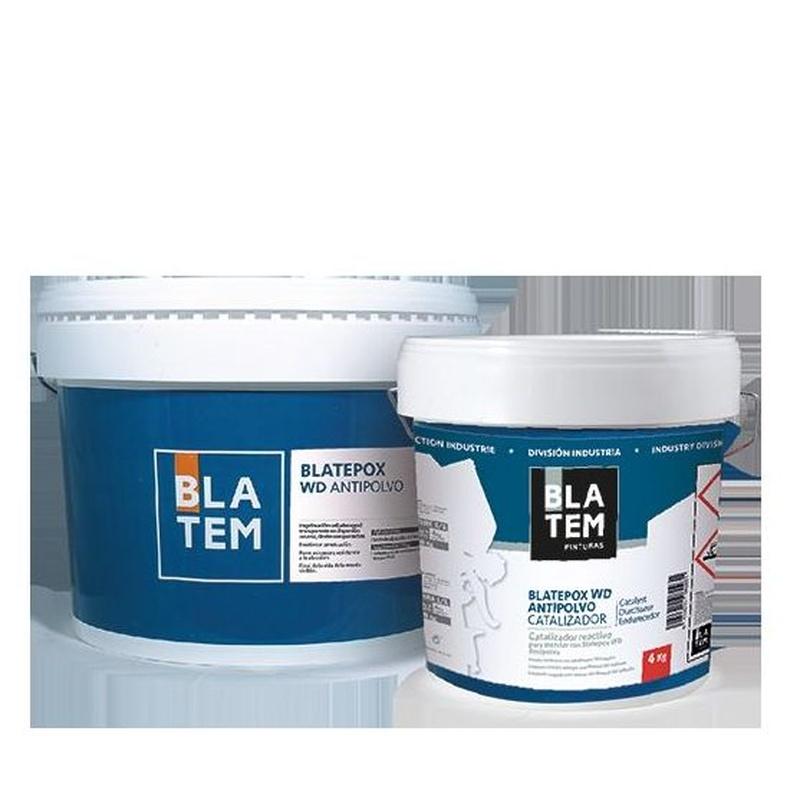 Blatepox WD antipolvo en almacén de pinturas en ciudad lineal.