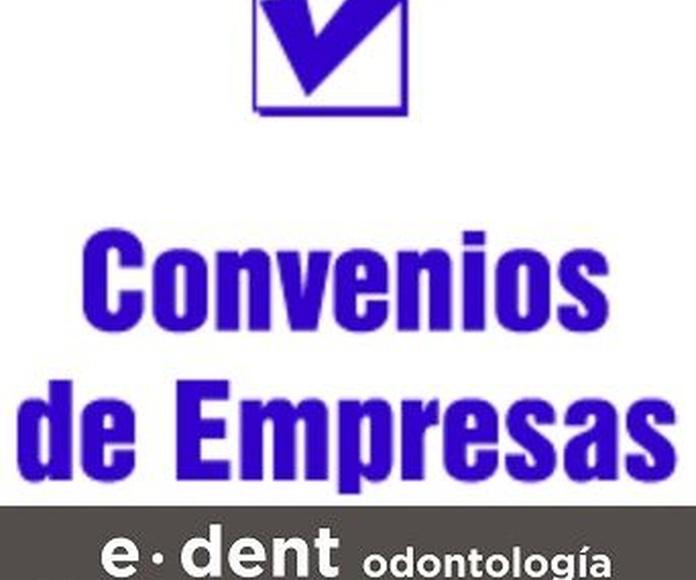 Convenios servicios dentales con empresas en Valencia