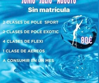 CURSO DANZA CONTEMPORÁNEA: CLASES Y MÁS... de Feeling Woman Pole Dance-Sport