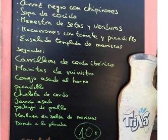 Menús del día  -  15 euros: Carta de El Curueño