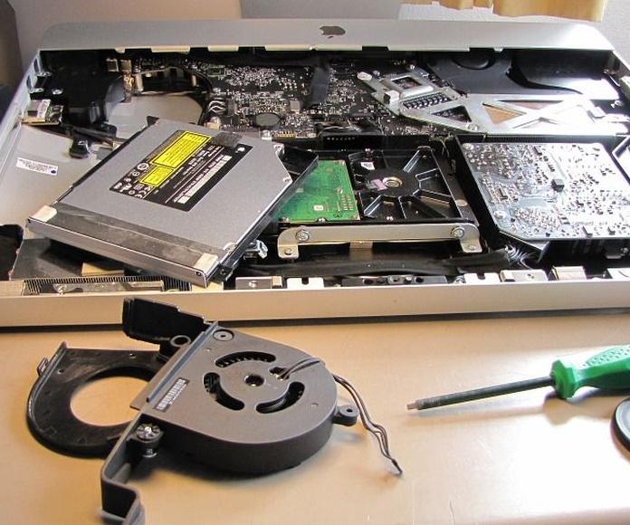 Formateamos tu iMac: Servicios Informáticos de mac-rapid