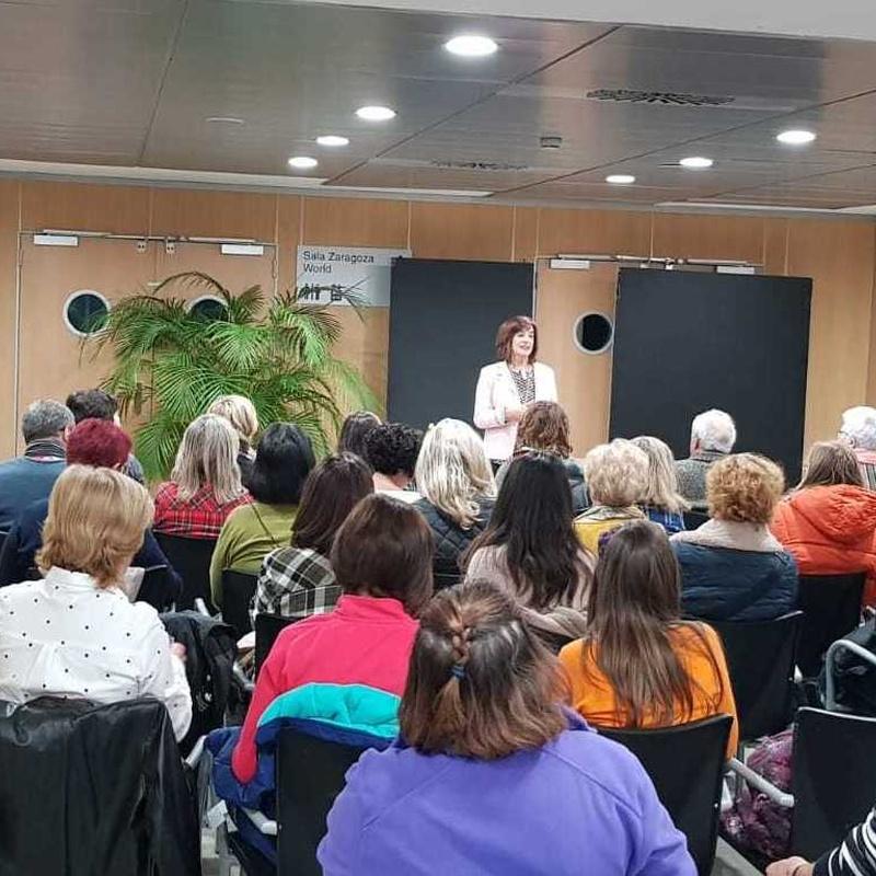 """Charla World Trade Center 8 Salón Zaragoza """"Hacia una Nutrición Consciente"""""""