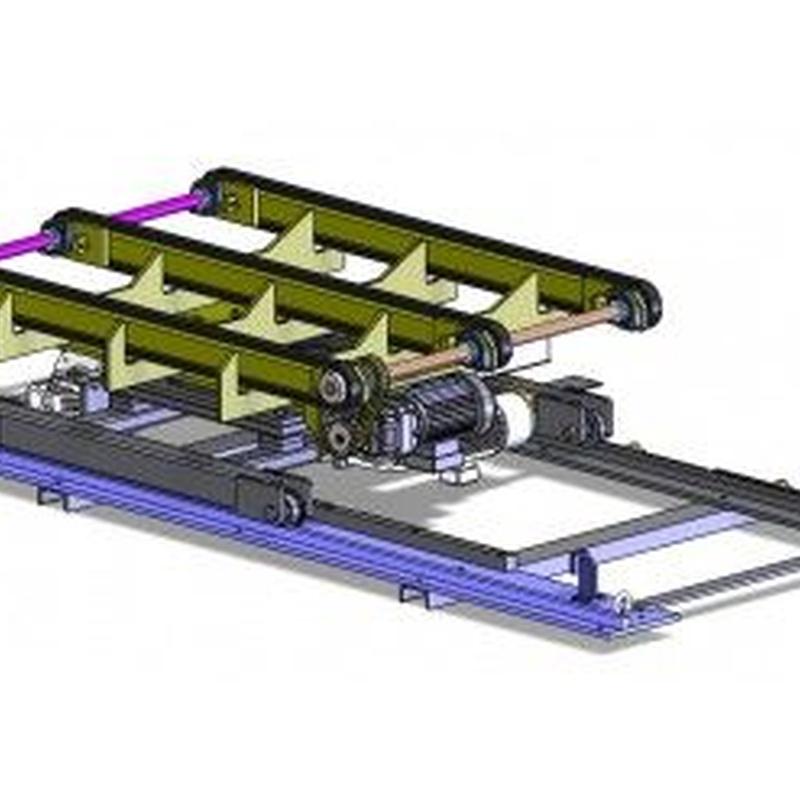 Transportadores de cadenas: Productos de Sistemas de Embalaje Miguel D, S.L.