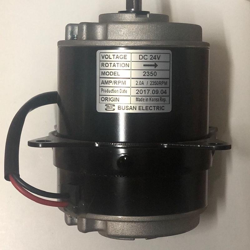 Motor elec condensador / evaporador