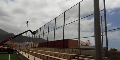 Vallado de campo de fútbol de Fañabé
