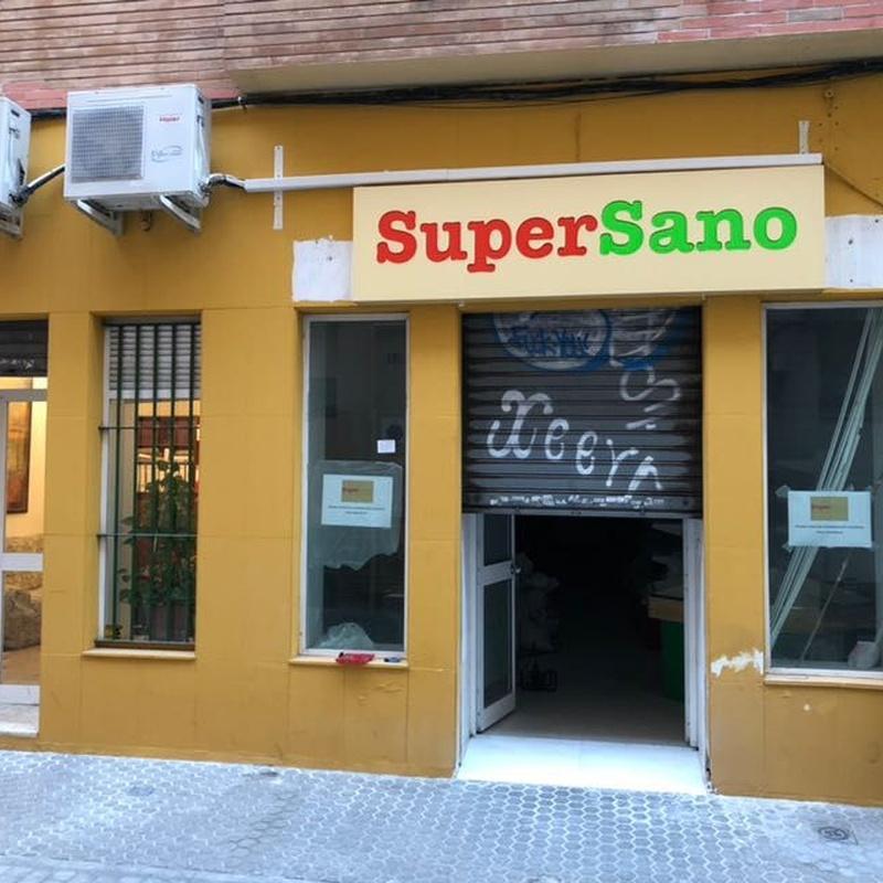 Supermercado Ecológico SUPERSANO en Calle San Vicente, (Sevilla)