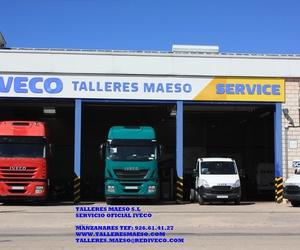 Talleres de camiones en Manzanares | Maeso Jareño, S.L.