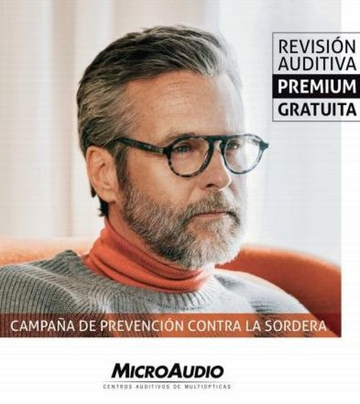 Revisión auditiva PREMIUM gratuita.