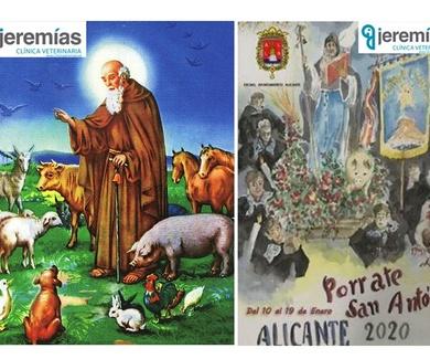 ¡San Antón, las 5 y con sol !