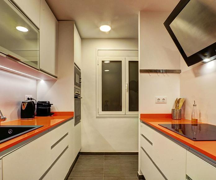 Diseño y reforma de cocina en Barcelona