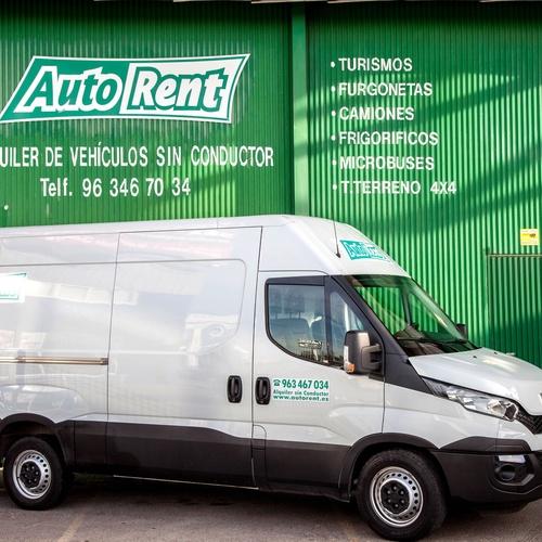 Alquiler de furgonetas baratas en Valencia