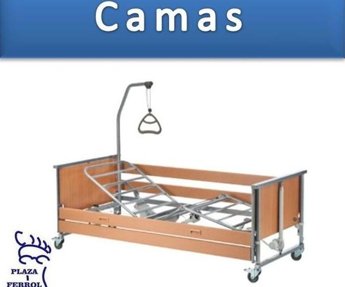Venta de camas articuladas: Catálogo de Edensalus