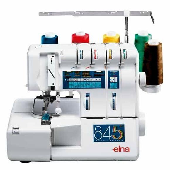 Elna 845 Overlock de 5 hilos con recubridor sup.: Productos de J. Pujol
