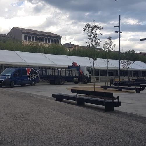 Alquiler de carpas en Girona | Carpas Casamayor