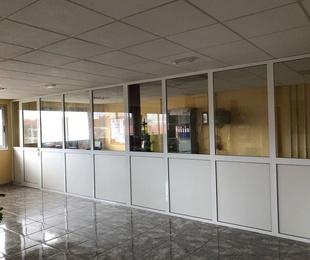 Cerramiento de oficinas