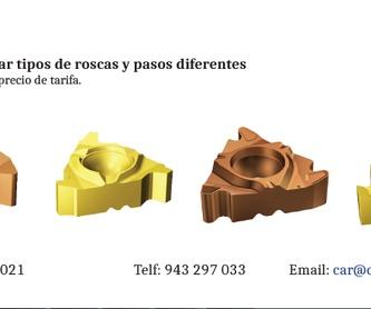 Fabricación de herramientas especiales: Productos de Car Suministros Industriales