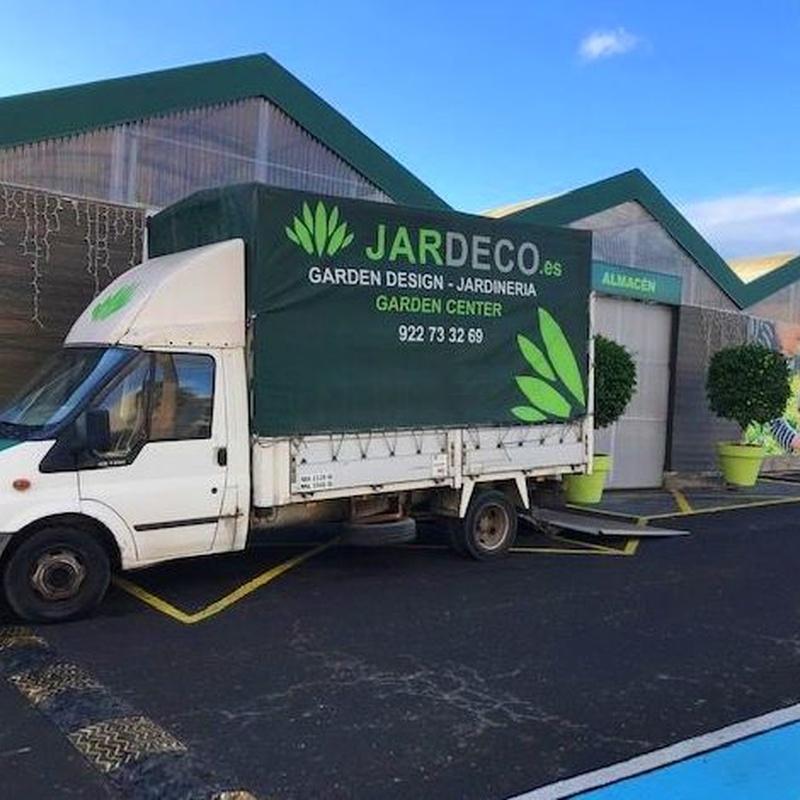 REPARTOS A DOMICILIO: Productos y servicios de Jardeco