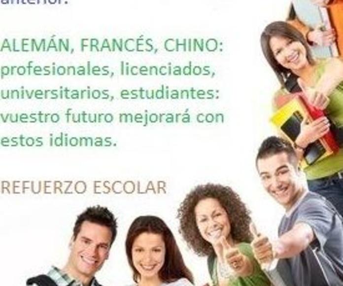 Otros idiomas: Servicios de Academia CEPA