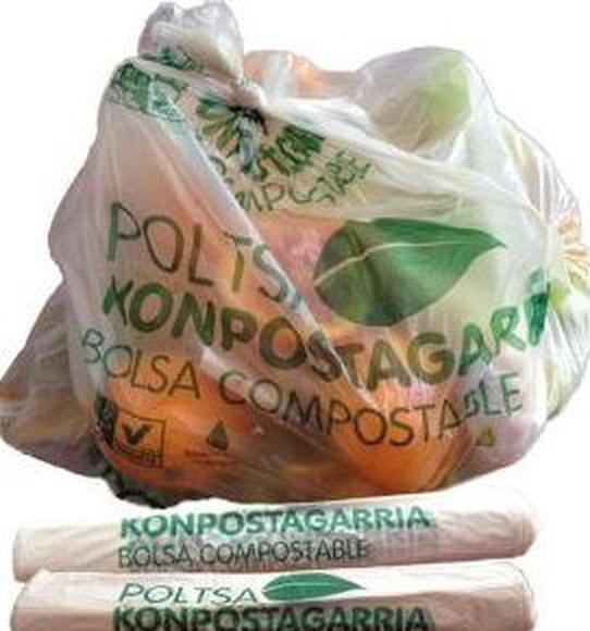 Bolsas compostables en Bilbao