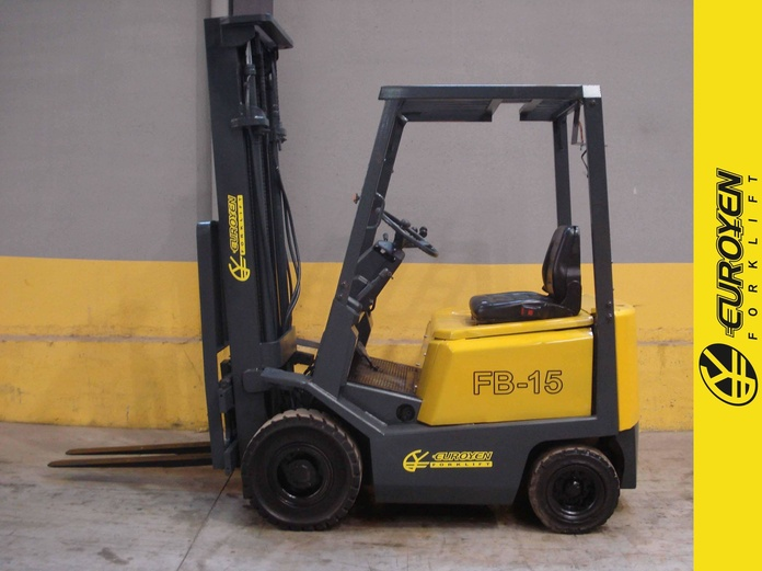 Carretilla eléctrica YALE SUMITOMO Nº 5352: Productos y servicios de Comercial Euroyen, S. L.
