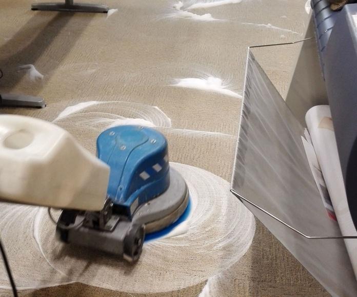 Limpieza de moquetas, alfombras y textiles en Madrid Sur, Getafe, Mostoles y Fuenlabrada