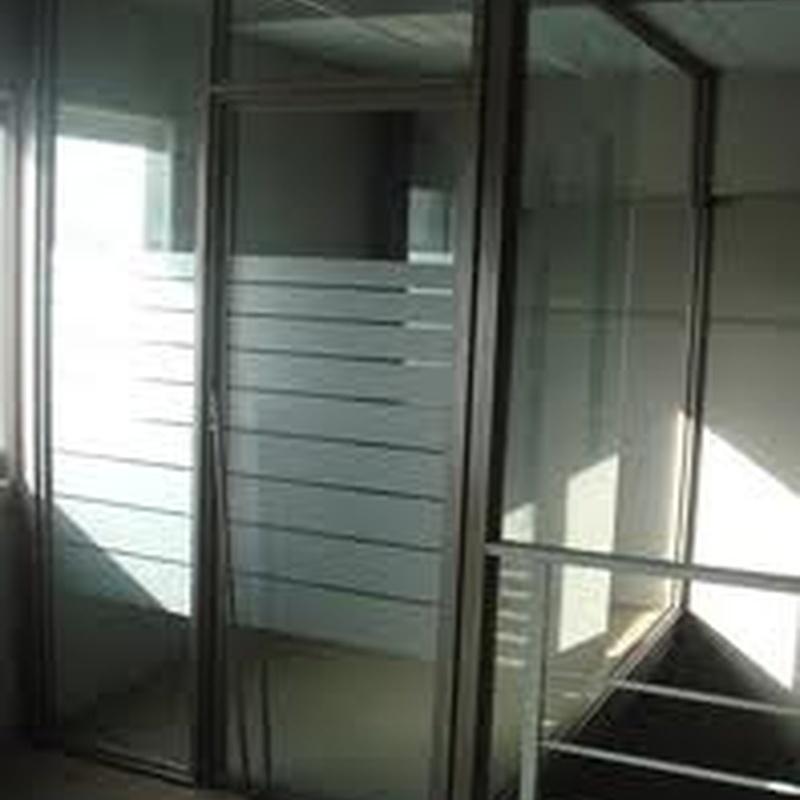 División de oficinas: Productos  de Carpintería de Aluminio Zaragoza