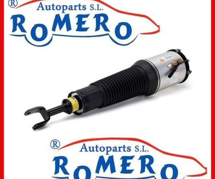 Audi: Suspensiones y vehículos de Romero Autoparts Zaragoza