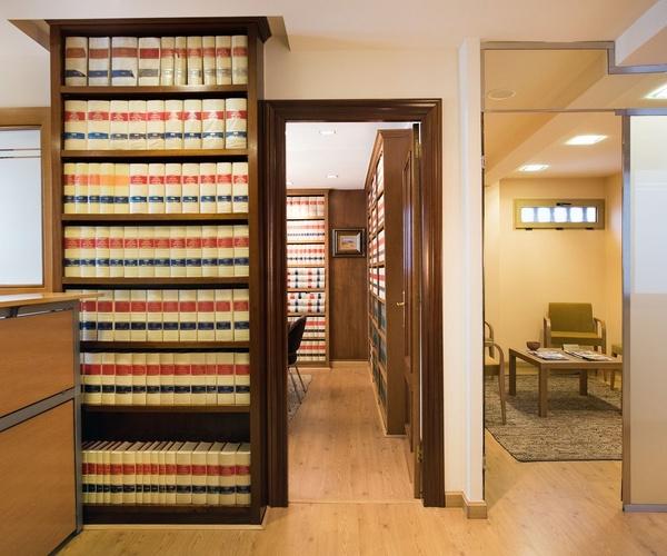 Instalaciones del bufete de abogados
