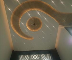 Alta decoración con prefabricados ligeros. Villa de lujo (Argelia)