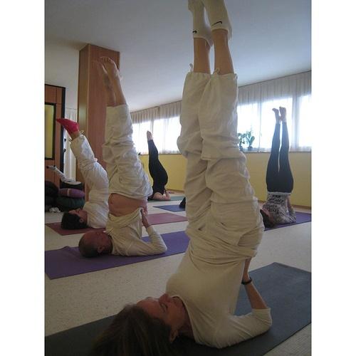 Mejoramos tu salud con el yoga