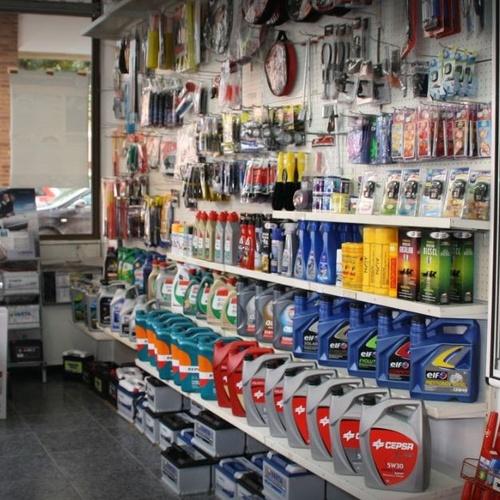 Tienda complementos y accesorios automóvil Mungia